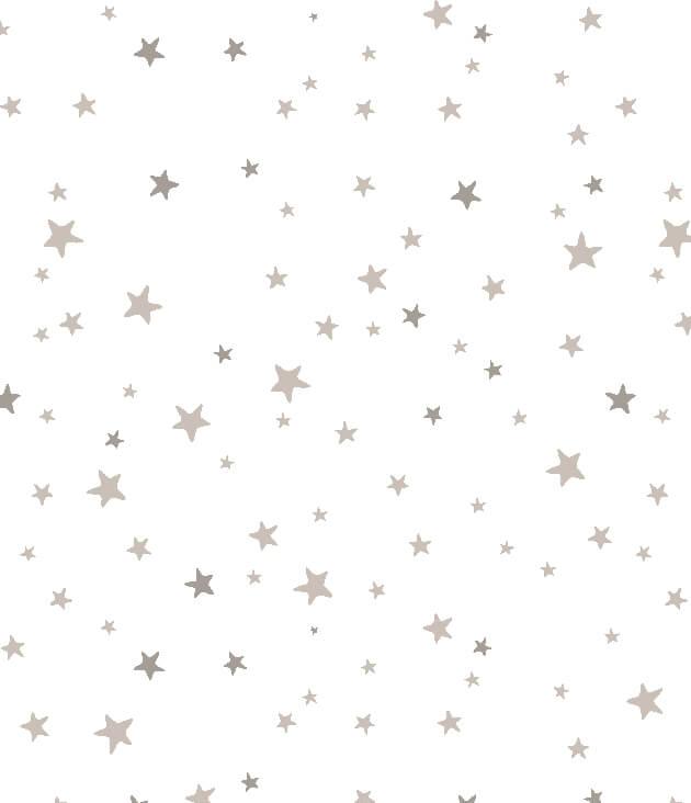 סדינים ללול כוכבים קטנים אפורים Nino