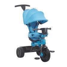 תלת אופן רב שלבי עם מושב מתכוונן Tricycoo 4.1 כחול ג'ובי