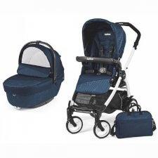 עגלת תינוק וטיולון פג פרגו בוק פלוס גיאו 2018 כחול