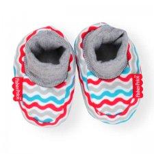 נעלי טריקו צבע אפור לתינוק