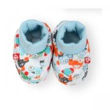 זוג נעלי טריקו תכלת לתינוק