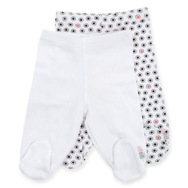 זוג רגליות לתינוק לבן אדום בייבי לאב