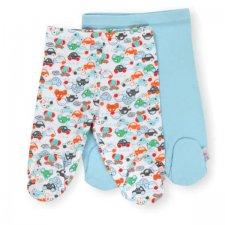 זוג רגליות לתינוק צבע תכלת