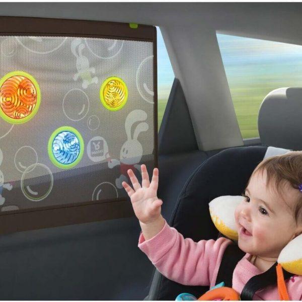 צלון בועות אור לרכב בן-בת