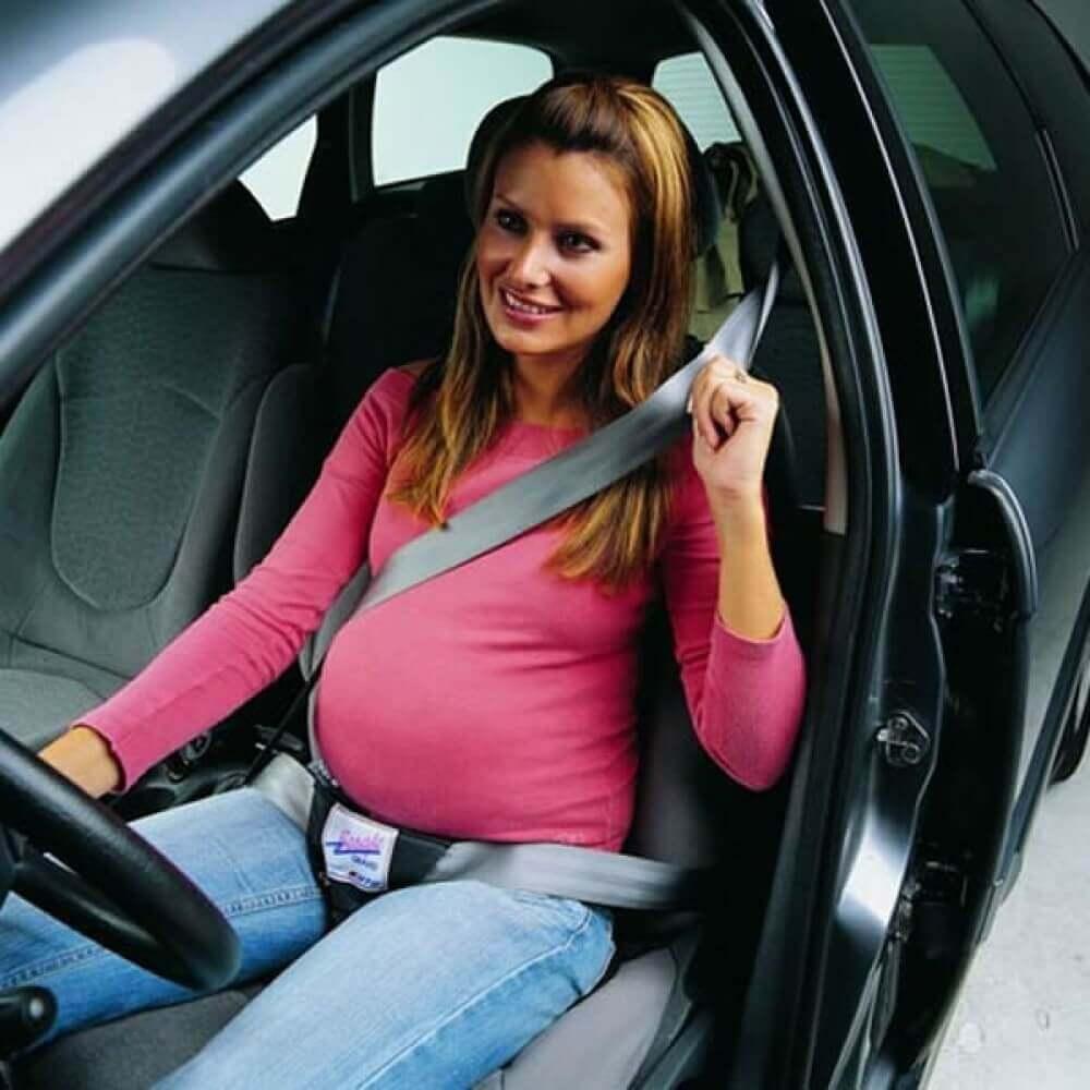 מתאם חגורה לאשה בהריון בי-סייף