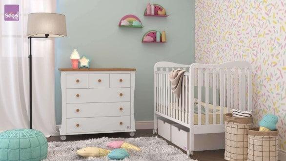 עדכון מעודכן חדר תינוקות שקד רהיטי סגל | בייבי לאב - הרשת המקצועית להורה ולתינוק HP-47