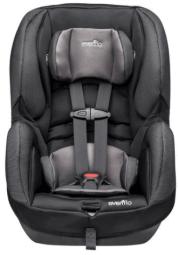 כיסא בטיחות אוונפלו שורייד DLX שחור