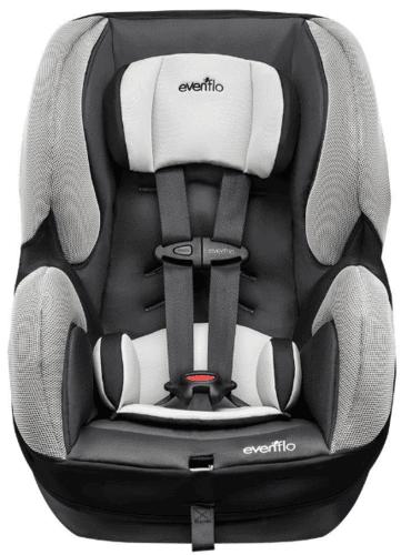 כיסא בטיחות אוונפלו שורייד DLX שחור-אפור