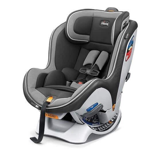 כסא בטיחות צ'יקו נקסטפיט IX זיפ שחור אפור SPECTRUM