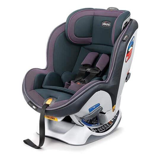 כסא בטיחות צ'יקו נקסטפיט IX זיפ שחור סגול STARLET