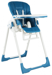 כסא אוכל לילדים MAMA בייבי סייף כחול