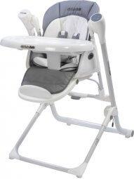 כסא אוכל משולב נדנדה חשמלית אפור