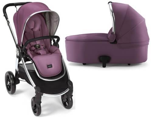עגלת תינוק מאמאס אנד פאפאס אוקרו בצבע סגול יין