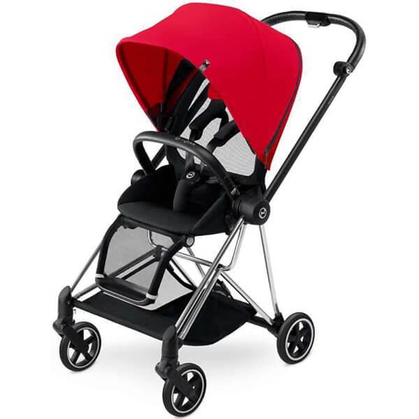 עגלת תינוק סייבקס מיוס בצבע אדום