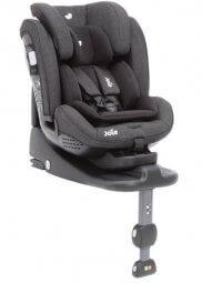 כסא בטיחות ובוסטר ג'ואי סטייגס איזופיקס שחור-אפור