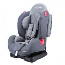מושב בטיחות משולב בוסטר 9-25 אדום בייבי סייף אפור