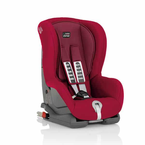 מושב בטיחות BRITAX Duo Plus אדום