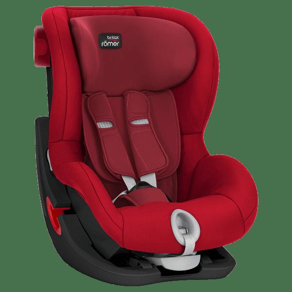 מושב בטיחות BRITAX King II C&T אדום