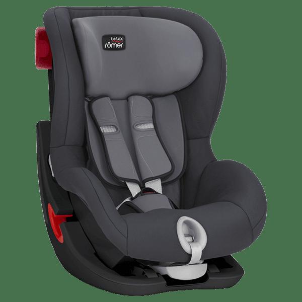מושב בטיחות BRITAX King II C&T אפור