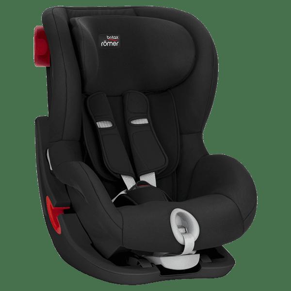 מושב בטיחות BRITAX King II C&T שחור