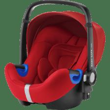 סלקל I SIZE BABY SAFE בסיס ISOFIX אדום