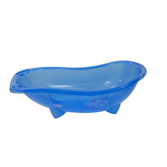 אמבטיה לתינוק בצבע כחול שקוף גו בייבי