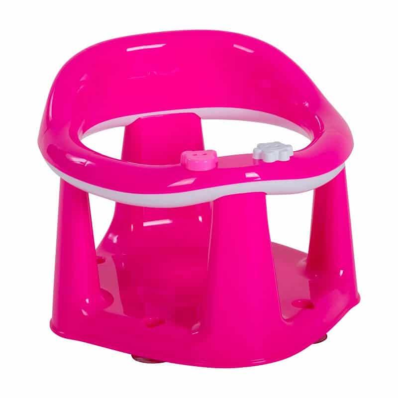 טבעת לאמבטיה גו בייבי ורוד