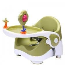 כסא אוכל בייבי סייף הגבהה MINI ירוק