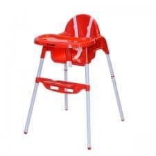 כסא אוכל בייבי סייף 2 ב-1 אדום
