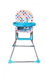 כסא אוכל גו בייבי כחול