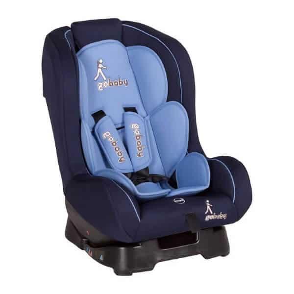 כסא בטיחות קומפורט גו בייבי שחור כחול משולב