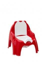 סיר לילה עם כסא נשלף גו בייבי אדום