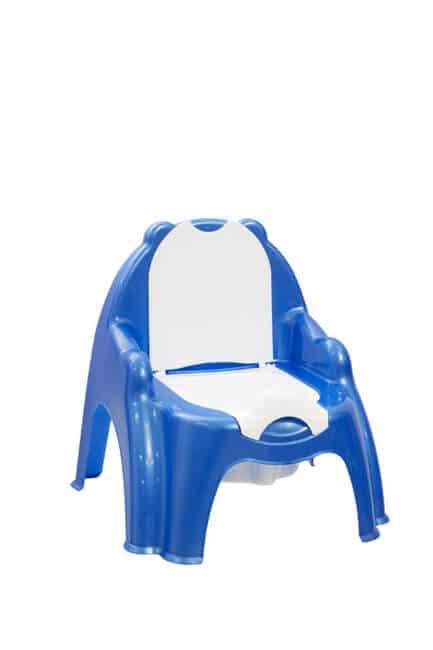 סיר לילה עם כסא נשלף גו בייבי כחול