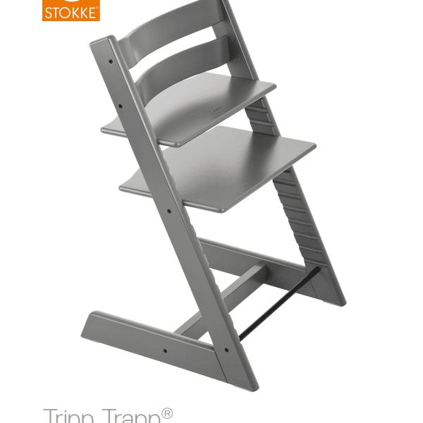 כיסא אוכל אפור ®Tripp Trapp סטוקי
