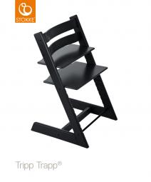 כיסא אוכל שחור ®Tripp Trapp סטוקי