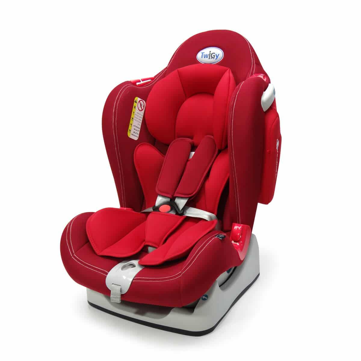כיסא בטיחות סייפ גארד אדום-בורדו טוויגי