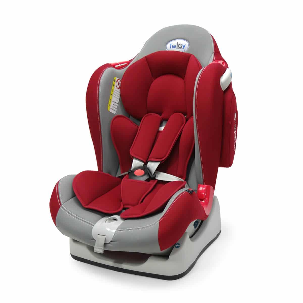 כיסא בטיחות סייפ גארד אדום-אפור טוויגי