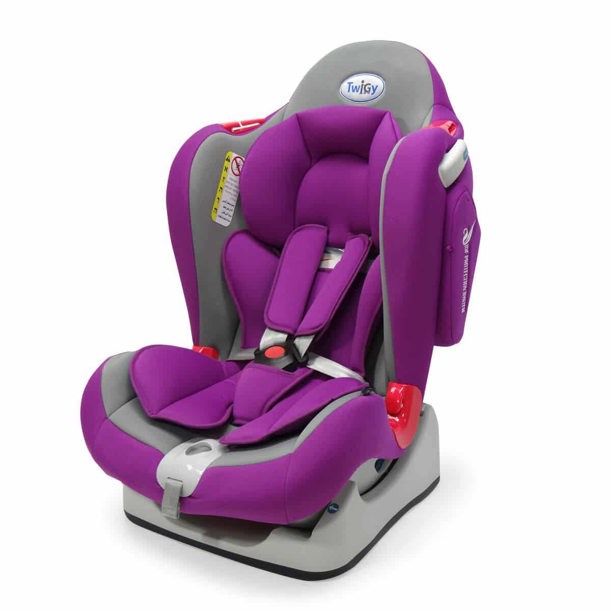 כיסא בטיחות סייפ גארד סגול-אפור טוויגי