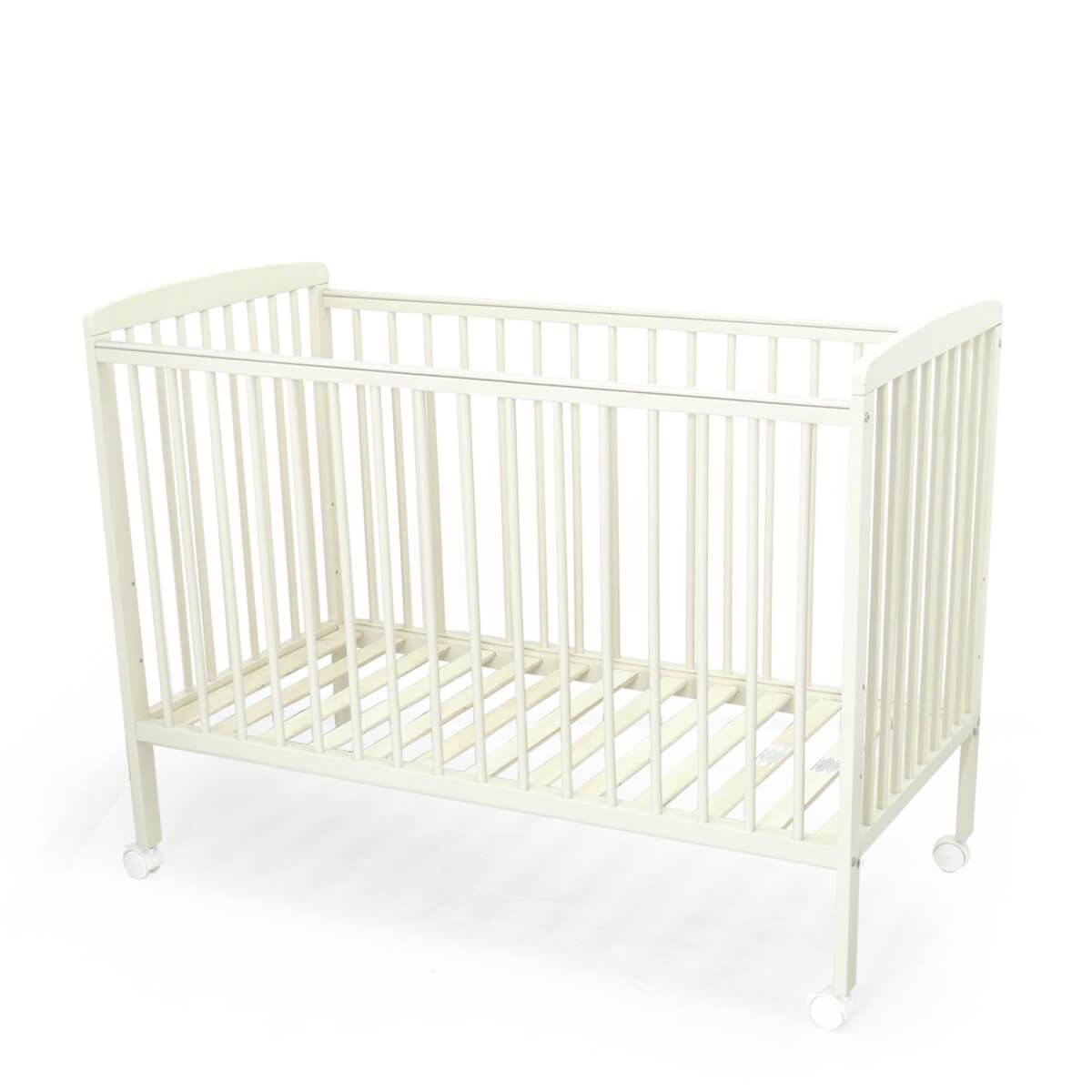 """מיטה לתינוק סטארלייט 120X60 ס""""מ שמנת טוויגי"""