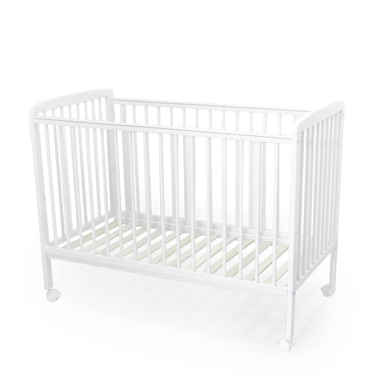 """מיטה לתינוק סטארלייט 120X60 ס""""מ לבן טוויגי"""