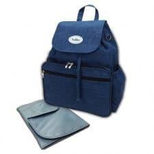תיק גב עם משטח החתלה בק אפ כחול טוויגי