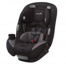 כסא בטיחות Continuum 3 in 1 בצבע שחור ברשת בייבי לאב