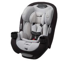 כיסא בטיחות לתינוק גרו אנד גו איירGrow And Go AIR מבית סייפטי Safety 1st שחור לבן