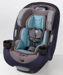 כיסא בטיחות לתינוק גרו אנד גו איירGrow And Go AIR מבית סייפטי Safety 1st אפור תכלת