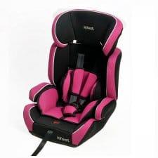 כיסא בטיחות רייס אינפנטי ורוד