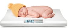 משקל דיגיטלי ביתי לתינוק Nuvita איטליה