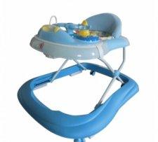 הליכון פרימיום בייבי מישל Baby Michel בצבע כחול