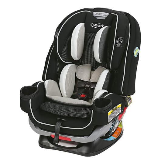 כיסא בטיחות גרקו פוראבר אקסטנד2פיט שחור-בז'