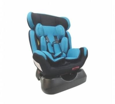 כיסא בטיחות משולב בוסטר איזי גו Easy Go מבית דיפנדר Defender בצבע תכלת