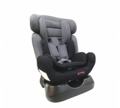 כיסא בטיחות משולב בוסטר איזי גו Easy Go מבית דיפנדר Defender בצבע אפור